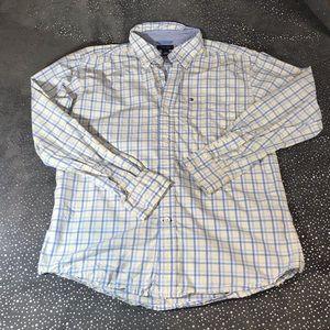 Tommy Hilfiger Boys Button-Down Shirt M (12-14)